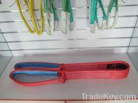 Polyester duplex lifting belts