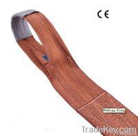 Flat lifting sling