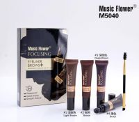 Music Flower Eyebrow Gel And Eyebrow Cream  M5040