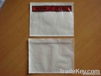 Sell packing list envelope, invoice enclosed-Self-Adhesive