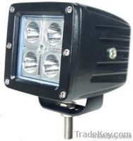High quality 12w CREE led work light, led offroad light, led light