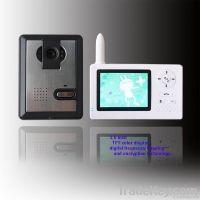 3.5'' Wireless video door phone