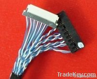 LCD LVDS wire cable DF14 DF19 FIX single channel dual channel LCD moni