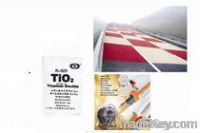 TiO2 rutile, special use for road marking paint