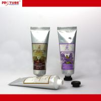 Hand cream tube packaging