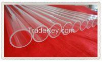 High tempreture resistant quartz glass tubes