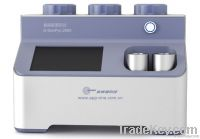 G-DenPyc 2900 true density analyzer measurement for powder