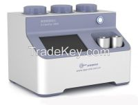 gas pycnometer analyzer for true density, open and closed porosity