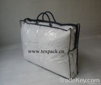 Clear LDPE Zipper Bag with Rope Handle