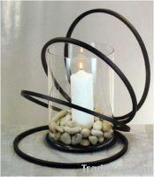 Decorative Metal Furniture Frame For Candlestick