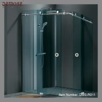 prefab luxury glass shower room