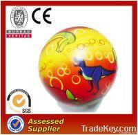 Shanghai factory 360 full printing pvc toy ball