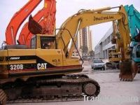Good working condition of the used CAT320BL excavator digger