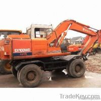 used excavator, HITACHI100-1W for sell