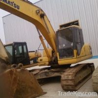 used excavator, KomatsuPC210 for sell