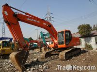 used excavator, Daewoo DH220 for sell