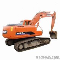 used excavator, Daewoo DH220lc-7 for sell