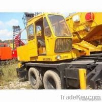 The good working condition of used truck crane, Kato NK 250E for sell