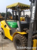 Good working condition of used Komatsu forklift is underselling