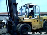 Good working condition of the original used Komatsu forklift is sellin