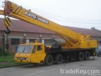 The original used and good working condition of Kato 50tons  for sell