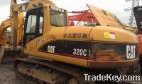 Used excavator of Komatsu320C for sell