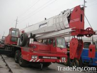 Good working condition of the  used Tadno 150ton crane is selling