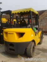 Good working condition of the  original used Komatsu forklift For Sell