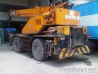 The original used of good wokring condition Kato 25tons is selling