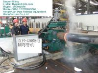 hydraulic steel pipe and tube induction bending machine