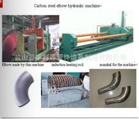 carbon and stainless steel pipe and tube induction bending machine