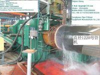 hydraulic steel pipe and tube bending machine