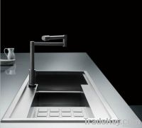 double with drain board kitchen sinks STS 201B-2