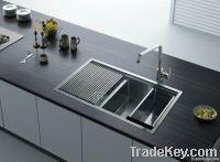 stainless steel kitchen wash basin RFS 100A-2