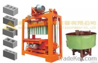 Manual concrete cement block making machine