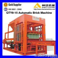 High efficiency cement hollow block making machine
