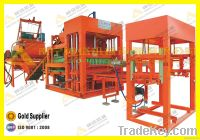 High efficiency cement hollow block making machine