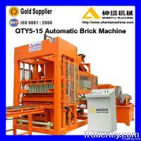 Automatic hydraulic cement block making machine