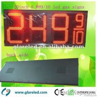 led gas price display sign screen