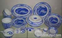 dinner set-Riverside Scene at Qingming Festival