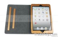 Functional style leather case for iPad mini