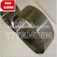 ASTM B265 Pure Titanium Foil with length 500mm x width 50mm