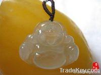 Jade Maitreya Buddha Pendant