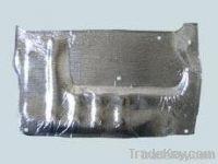 Automobile engine heat insulation pad