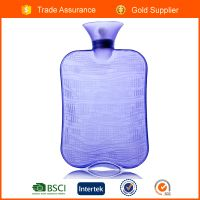 2L BS Pvc large hot water bottles for body warm