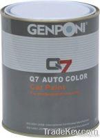 Car paint: Q-326 mirror-effect clear coat