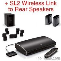 Bose Lifestyle V35 & Bose SL2 Wireless Surround Link to Rear Speakers