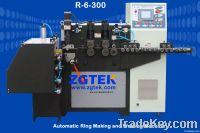 Ring making and welding integrated machine