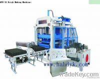 Cement  Brick Making Machine/cement block brick