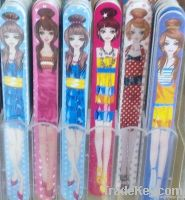 178*19*4mm nail file with pattern